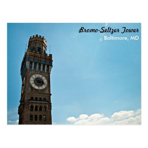 Torre Baltimore del Bromo-Seltzer Postal