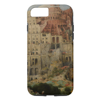 Torre de Babel de Pieter Bruegel la anciano Funda iPhone 7