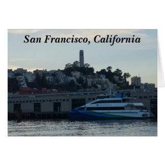 Torre de Coit, tarjeta de San Francisco #4