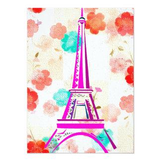 Torre de Eiffel del vintage París Anuncio Personalizado