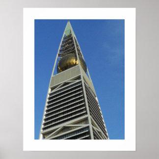 Torre de Faisaliah del Al Póster