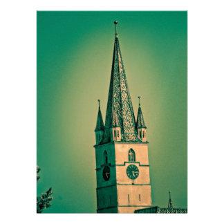 Torre de iglesia evangélica anuncios personalizados
