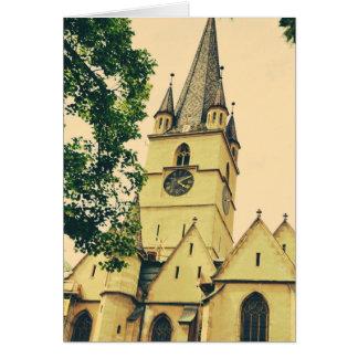 Torre de iglesia evangélica Sibiu