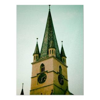 Torre de iglesia evangélica, Sibiu Comunicado Personal