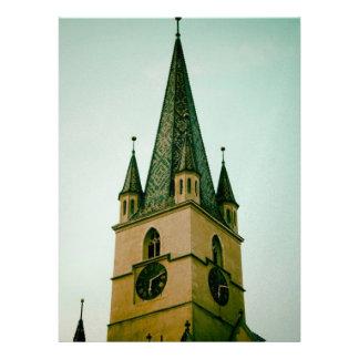 Torre de iglesia evangélica Sibiu Comunicado Personal