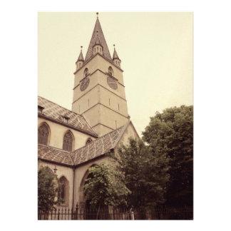 Torre de iglesia evangélica Sibiu Comunicado Personalizado
