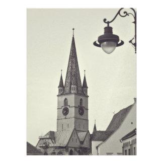 Torre de iglesia evangélica Sibiu Comunicados