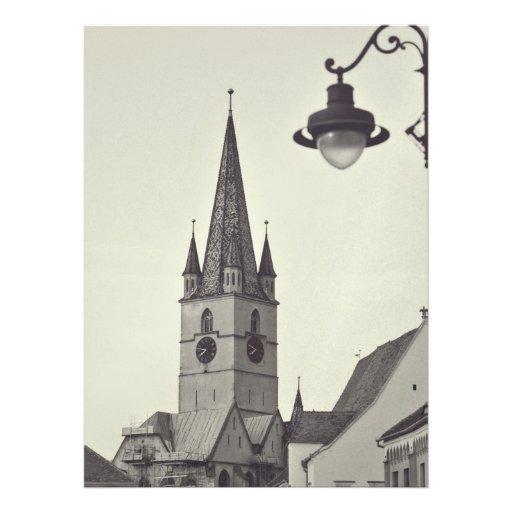 Torre de iglesia evangélica, Sibiu Comunicados