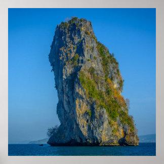 Torre de la isla póster