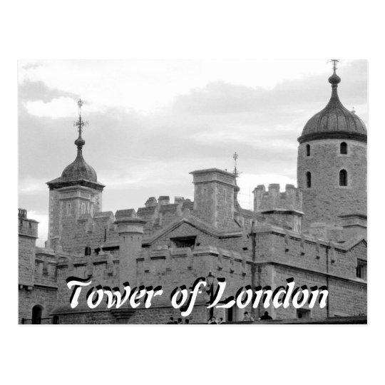 Torre de la postal del vintage de Londres