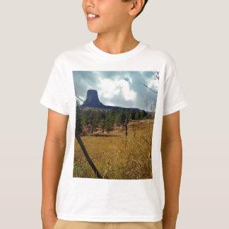 Torre de los diablos, pino ponderosa camiseta