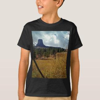 Torre de los diablos, pino ponderosa camisetas