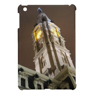 Torre de reloj de ayuntamiento de Philadelphia en