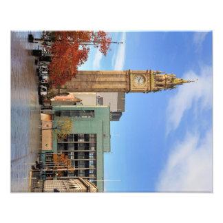 Torre de reloj en Belfast Foto