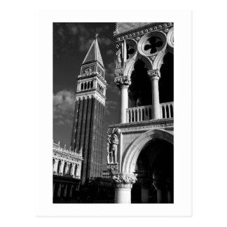 Torre de Venecia San Marco y palacio del dux Postal