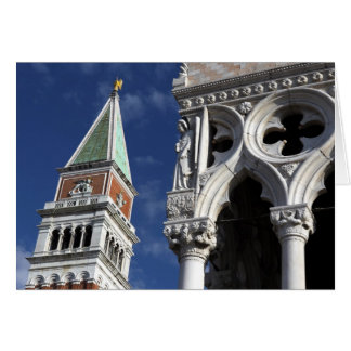 Torre de Venecia San Marco y palacio del dux Felicitacion