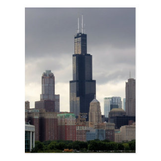 Torre de Willis - postal de Chicago, Illinois