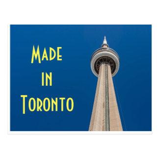 Torre del NC en postal de Toronto, Canadá