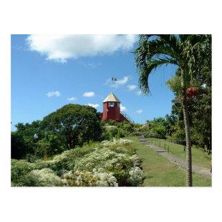 Torre del puesto de observación en Barbados Postal