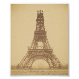 Torre Eiffel bajo construcción 1888 Impresiones Fotograficas