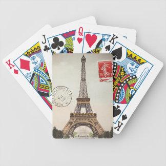 Torre Eiffel Baraja De Cartas Bicycle
