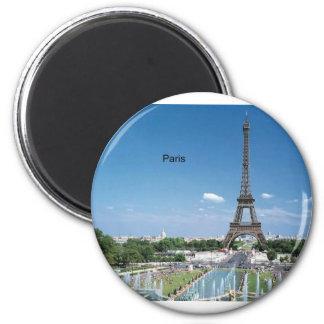 Torre Eiffel de Francia París (por St.K) Imán De Nevera