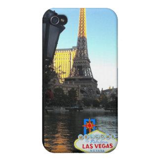 Torre Eiffel de Las Vegas iPhone 4 Cárcasas