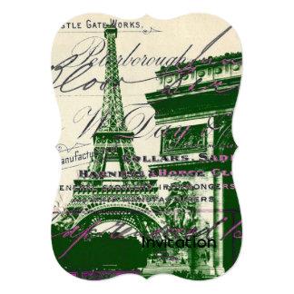 torre Eiffel de París de la puerta de la victoria Anuncios