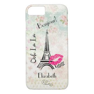 Torre Eiffel de París del La del La de Ooh en Funda iPhone 7