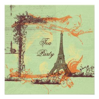 Torre Eiffel de París en verde Anuncios Personalizados