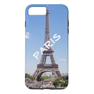 Torre Eiffel elegante personalizada de París Funda iPhone 7 Plus