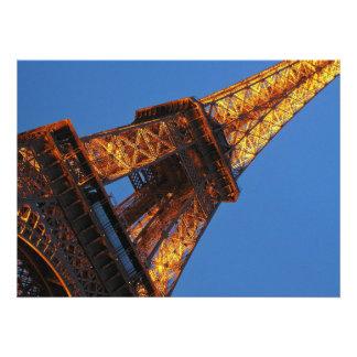Torre Eiffel en el cielo Invitaciones Personales