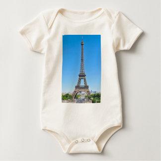 Torre Eiffel en París, Francia Body Para Bebé