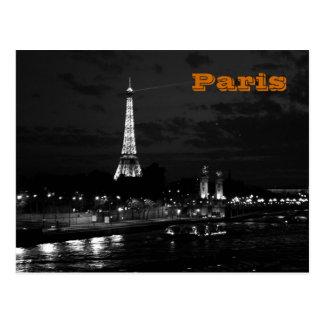 Torre Eiffel en París Postal