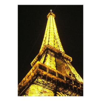 Torre Eiffel Invitación