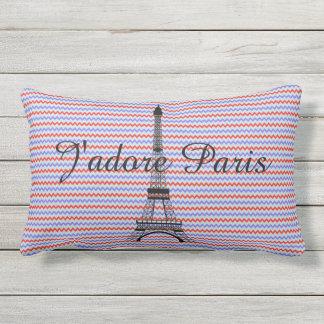 Torre Eiffel J'adore París Cojín De Exterior
