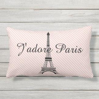 Torre Eiffel J'adore París Cojín Lumbar