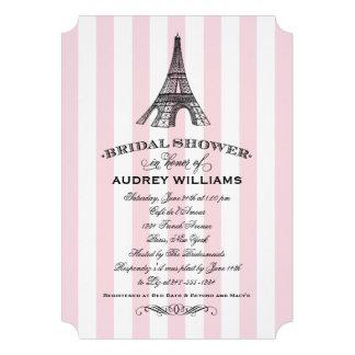 Torre Eiffel nupcial de la invitación el | París d