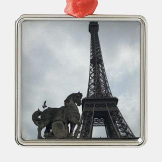 Torre Eiffel, ornamento del día de fiesta de la