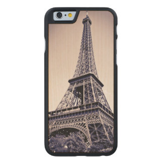 Torre Eiffel, París, Francia Funda De iPhone 6 Carved® Slim De Arce