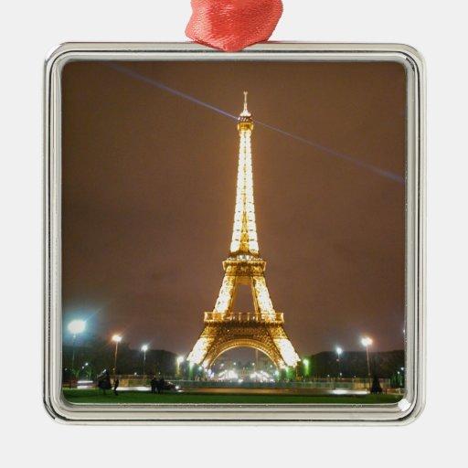 Torre Eiffel París Francia - vacaciones de la prim Ornamentos Para Reyes Magos