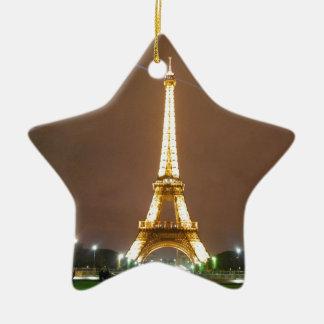 Torre Eiffel París Francia - vacaciones de la prim Ornamente De Reyes