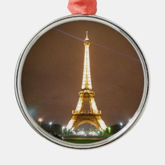 Torre Eiffel París Francia - vacaciones de la prim Adorno De Reyes