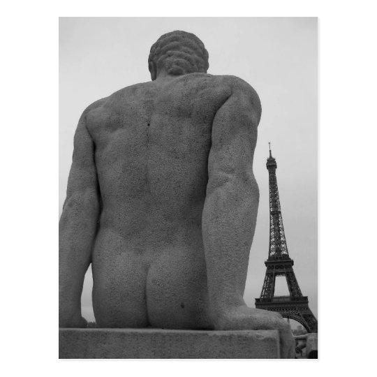 Torre Eiffel, postal II de París Francia