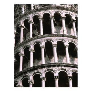 Torre inclinada de la postal de Pisa el  
