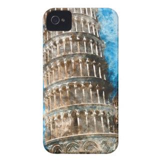 Torre inclinada de Pisa en Italia Carcasa Para iPhone 4 De Case-Mate
