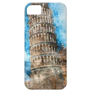 Torre inclinada de Pisa en Italia Funda Para iPhone SE/5/5s