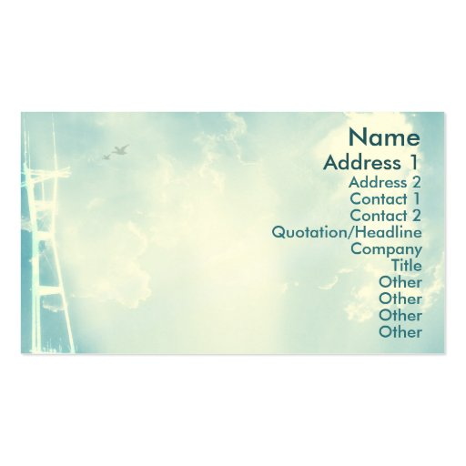 Torre - negocio tarjeta de visita
