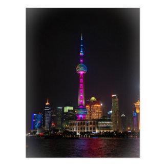 Torre oriental de la perla - Shangai, China Postal