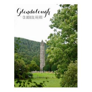 Torre redonda de Glendalough Postal